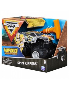 Monster Jam Max-d Seria Spin Rippers Scara 1 La 43