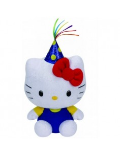 Plus Ty 15cm Beanie Babies Hello Kitty Party