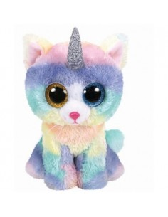 Plus Ty 15cm Boos Heather Pisica Unicorn