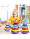 Turn Montessori din Lemn Multicolor - Happy Tower