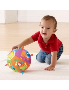 Minge Moale Interactiva Bebe - Material Textil