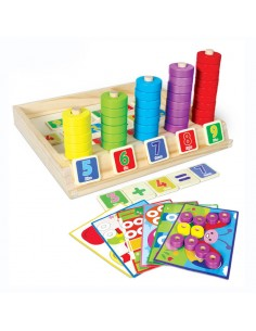 Joc Educativ Multifunctional din Lemn - Beilaluna