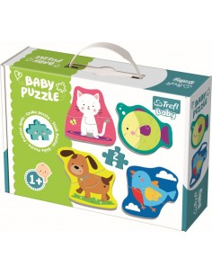 Puzzle Educativ Baby Clasic - Animale